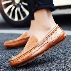 Weaving Stitching Casual Shoes