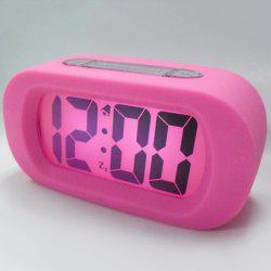 Snooze Silicone LED Digital Alarm Clock