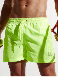 Pocket Drawstring Swimming Trunks
