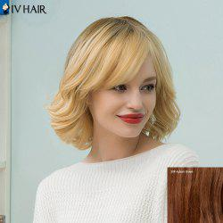 Siv Hair Medium Tail Upwards Bob Human Hair Wig
