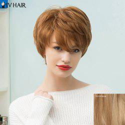 Siv Hair Short Layered Capless Human Hair Wig