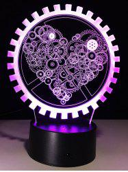 3D LED Color Changing Night Light For Kids Room Decoration