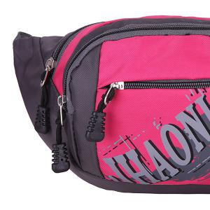 Multifunction Waterproof Waist Bag - ROSE MADDER