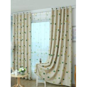 Window Shading Grommet Top Blackout Curtain