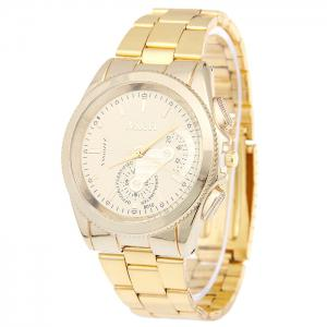 Stainless Steel Strap Analog Wrist Watch