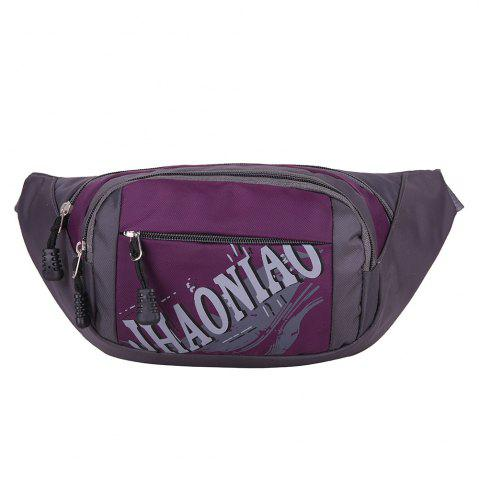 Unique Multifunction Waterproof Waist Bag - PURPLE  Mobile