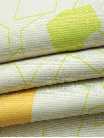 Discount Window Shading Grommet Top Blackout Curtain - 100*250CM YELLOW GREEN Mobile
