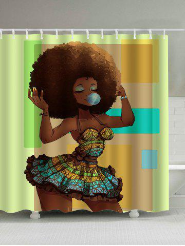 Brown 180 200cm Afro Hair Beautiful Girl Polyester