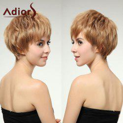 Adiors Short Layered Spiffy Straight Full Bang Synthetic Wig
