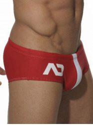 Two Tone Printed Swimming Briefs -