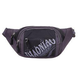 Multifunction Waterproof Waist Bag - BLACK