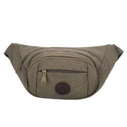 Sports Multifunctional Canvas Waist Bag -