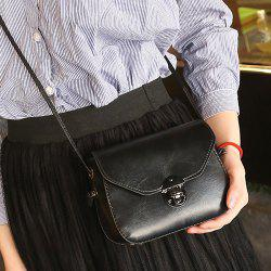 Metal Detail Cross Body Flap Bag