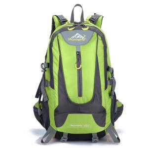 Waterproof 40L Mountaineering Backpack - Celadon