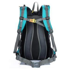 Waterproof 40L Mountaineering Backpack - LAKE BLUE