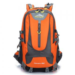 Waterproof 40L Mountaineering Backpack - Orange