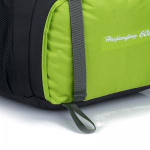 Waterproof 60L Mountaineering Backpack - CELADON