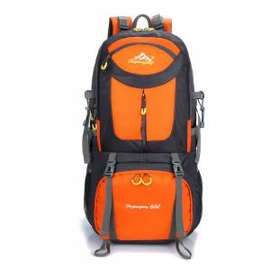 Waterproof 60L Mountaineering Backpack - Orange