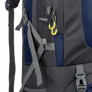 Waterproof 60L Mountaineering Backpack - CERULEAN