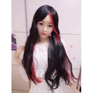 Harajuku Long Straight Centre Parting Cosplay Synthetic Wig -