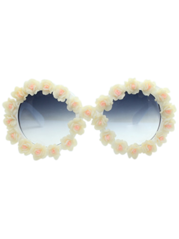Online Beach Travel Sunglasses with Floral