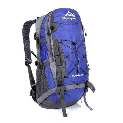 Hot Nylon 40L Mountaineering Backpack BLUE