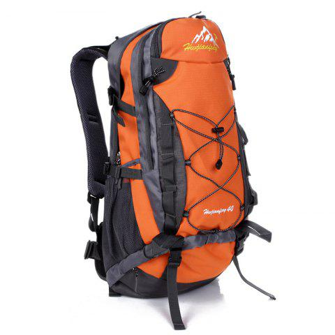 Nylon 40L Sac à dos alpinisme Orange