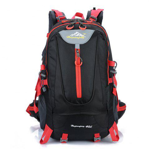 Online Waterproof 40L Mountaineering Backpack BLACK