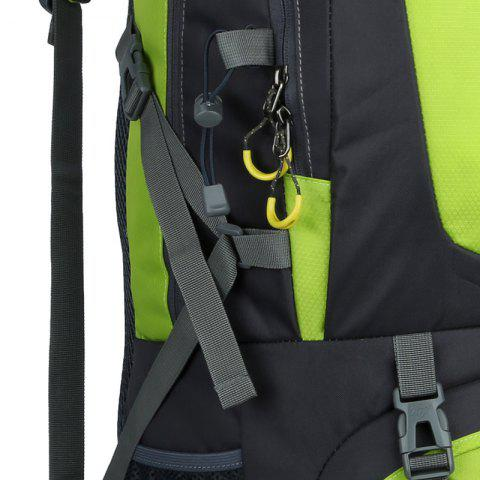New Waterproof 60L Mountaineering Backpack - CELADON  Mobile