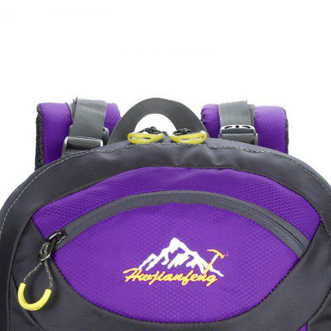 New Waterproof 60L Mountaineering Backpack - PURPLE  Mobile