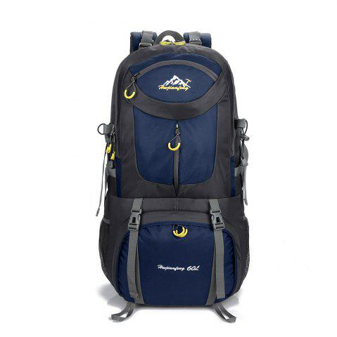New Waterproof 60L Mountaineering Backpack CERULEAN