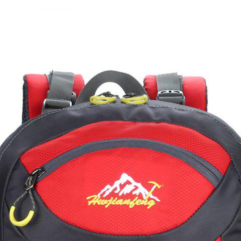 Outfit Waterproof 60L Mountaineering Backpack - RED  Mobile