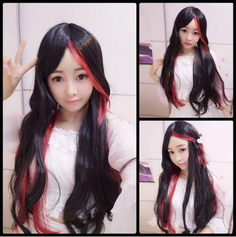 Sale Harajuku Long Straight Centre Parting Cosplay Synthetic Wig