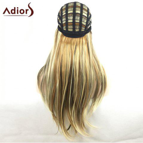 New Adiors Long Slightly Curly Side Bang Party Synthetic Wig - COLORMIX  Mobile