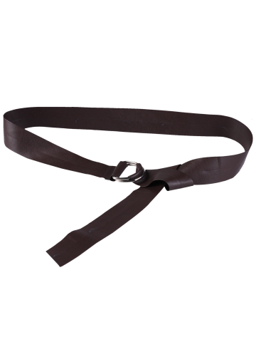 Discount Outside Wear Adjustable PU Leather Belt - COFFEE BROWN  Mobile
