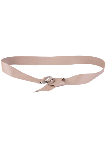 Store Outside Wear Adjustable PU Leather Belt - NUDE  Mobile