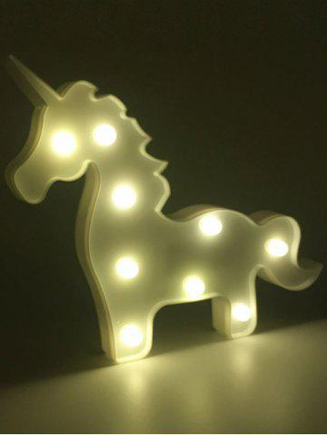 Sale Unicorn Shaped Room Atmosphere LED Night Light