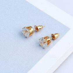 Artificial Diamond Stud Earrings