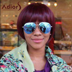 Adiors Short Straight Full Bang Bob Synthetic Wig