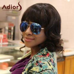 Adiors Short Curly Full Bang Synthetic Wig