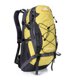 Nylon 40L Mountaineering Backpack - YELLOW