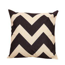Zig Zag Sofa Decorative Linen Pillowcase