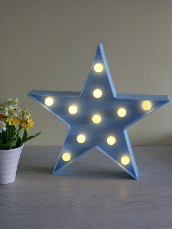 Affordable Cartoon Star Shape Home Decorative LED Night Light