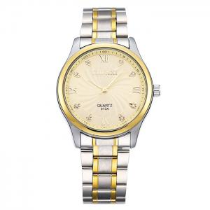 CHENXI Stainless Steel Rhinestone Analog Watch