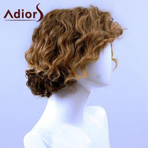 Outfit Adiors Hair Medium Curly Side Bang Capless Synthetic Wig - COLORMIX  Mobile