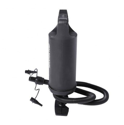 Sale Portable Manual Air Pump With 3 Different Nozzle -   Mobile