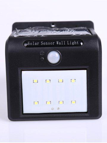 New Waterproof 8 LEDs Solar Powered Motion Sensor Solar Wall Lights - COLORMIX  Mobile