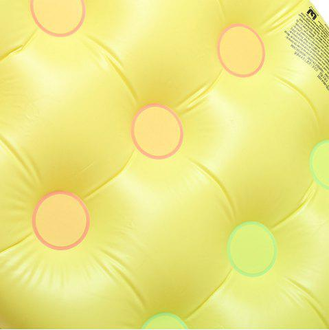 Outfits 18 Holes Inflatable Floating Row with Pillow Lounge -   Mobile