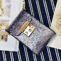 Cross Body Chains Sequin Bag