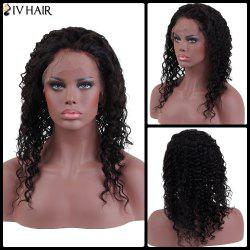 Siv Hair Long Curly Human Hair Lace Front Wig